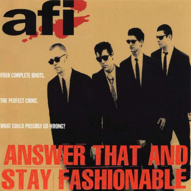 AFI: Answer that and Stay Fashionable Album