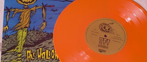 AFI: Versión en vinilo de All Hallow's EP, (1999)