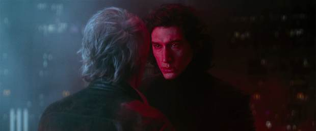 Star Wars: The Force Awakens, Han Solo, Kylo Ren, Adam Driver