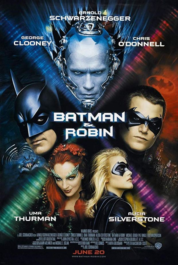 Batman and Robin, George Clooney, Chris O'Donnell