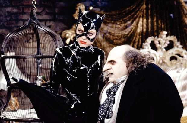 Catwoman, Penguin, Batman Returns, Tim Burton, Danny Devito, Michelle Pfeiffer