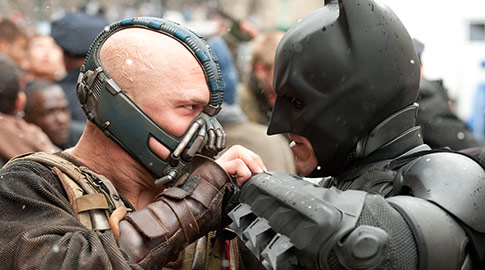 Batman, Dark Knight Rises, Christian Bale, Tom Hardy