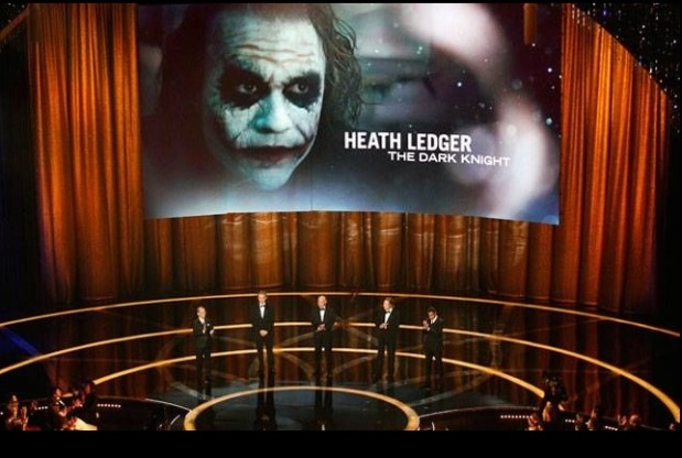 Heath Ledger, Batman, The Oscar, Academy Awards, The Dark Night