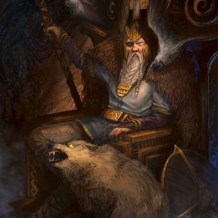 Odin, mitología nórdica, norse, Netflix, Zack Snyder, Jay Oliva