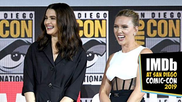 Rachel Weisz, Scarlett Johansson, Black Widow, Marvel, Comic-Con, Comic-Con San Diego International 2019