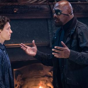 Spider-Man: Far From Home, Samuel L. Jackson, Tom Holland