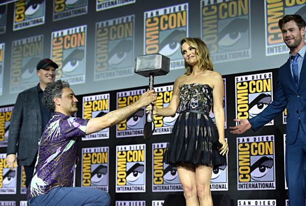 Natalie Portman, Thor, Thor: Love and Thunder