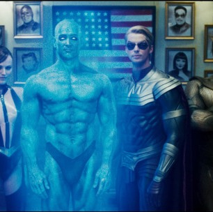 Watchmen, Zack Snyder, Comics, Billy Crudup, Malin Akerman, Matthew Goode, Jackie Earle, Haley, Jeffrrey Dean Morgan, Patrick Wilson