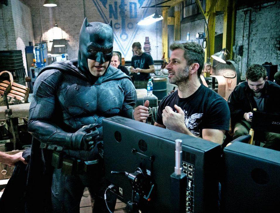 Zack Snyder, Ben Affleck, Batman v Superman: Dawn of Justice