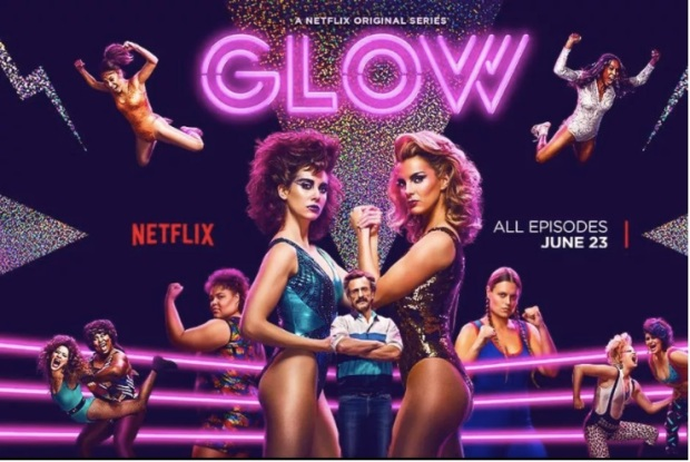 GLOW, Netflix, Series, Alison Brie, Betty Gilpin