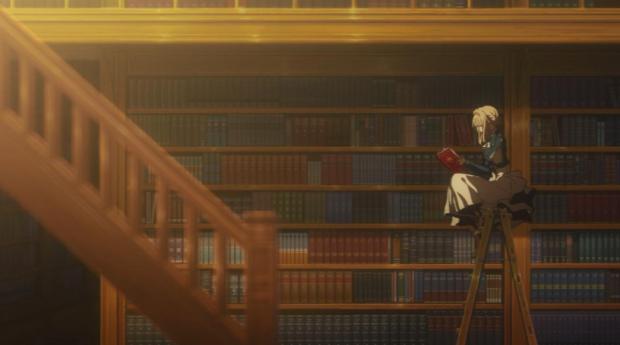 Vilolet Evergarden, Anime, Series