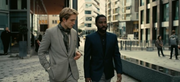 John David Washington, Robert Pattinson, Christopher Nolan