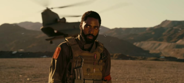 John David Washington, Christopher Nolan